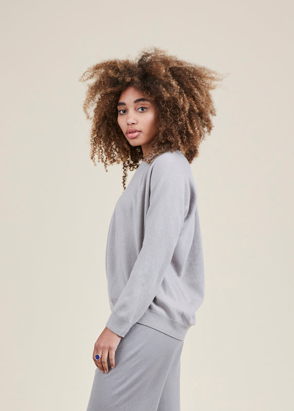 Seamless Cashmere Pullover