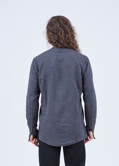 Sellek Collarless Shirt