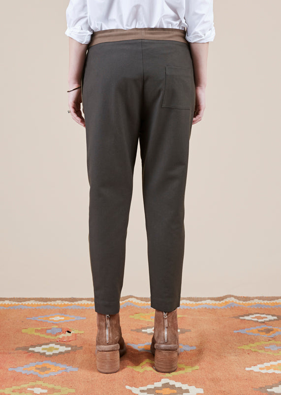 Lounge Pleated Pant