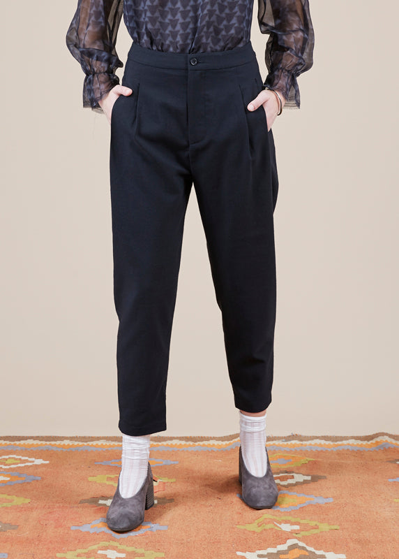 Sibel Saral Havuch Double Pleat Pant