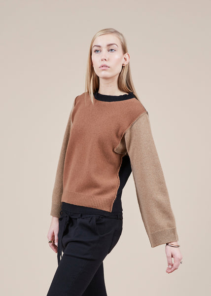 Leo Colorblock Sweater