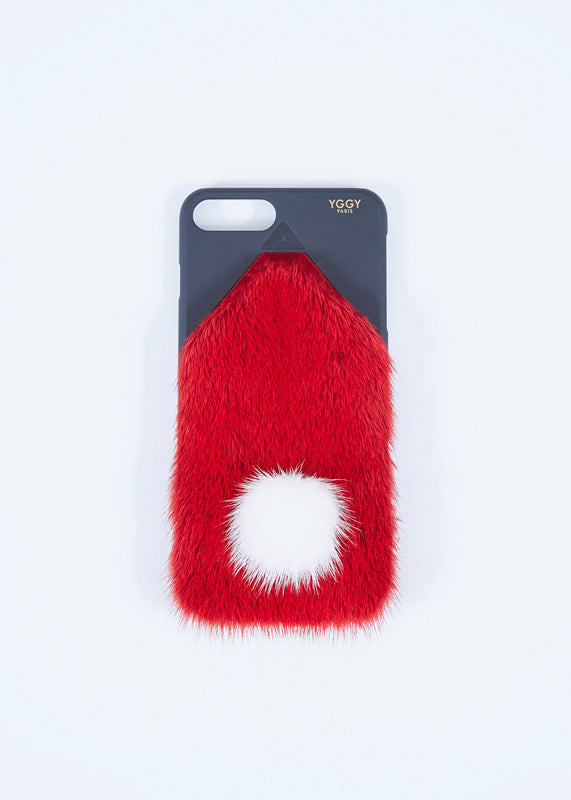 Pompom Mink iPhone 8+ Case