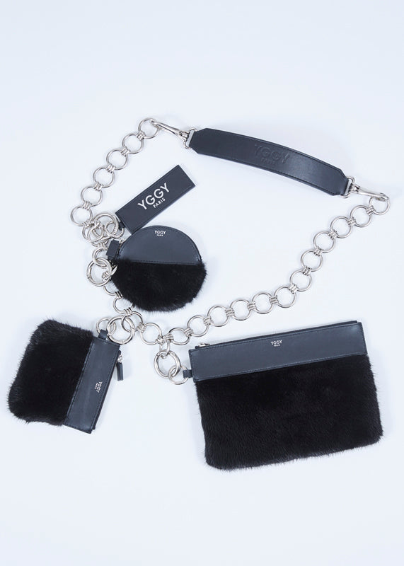 YGGY Mink Chain Bag