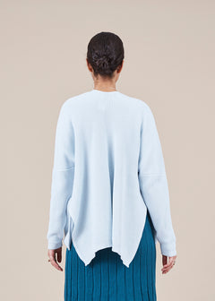 Oversize Pocket Knit Cardigan