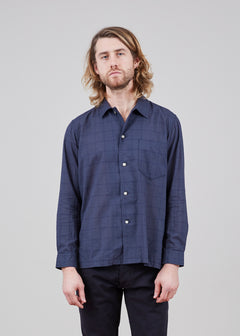 Long Sleeve Cotton and Silk Shirt