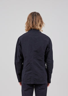 Unlined Four Button Jacket