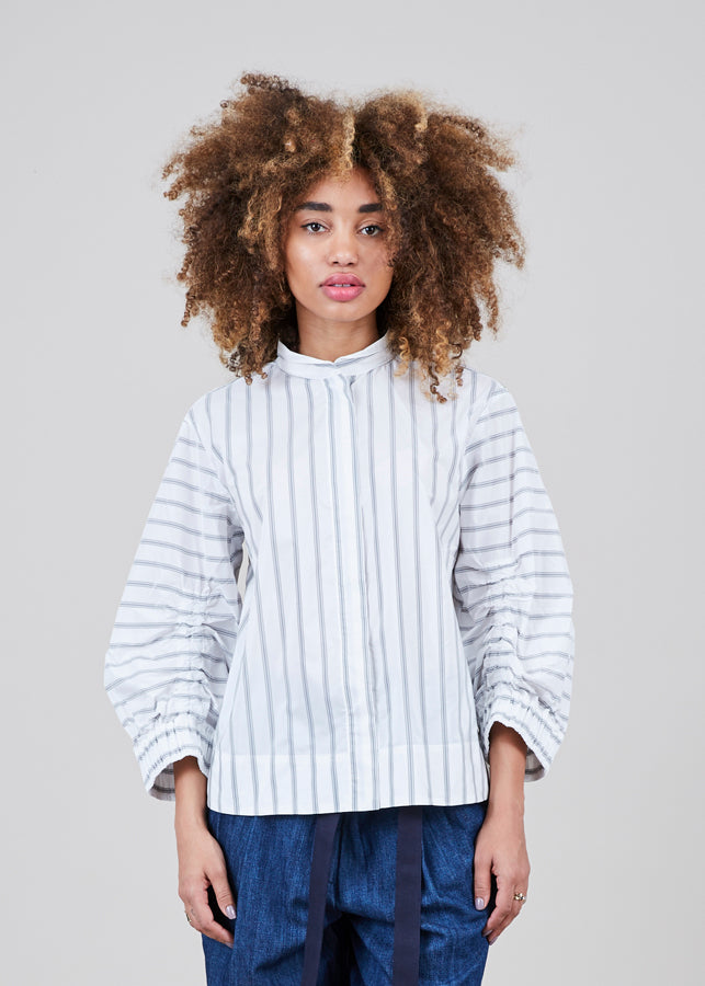 Odeeh 3/4 Sleeve Striped Shirt