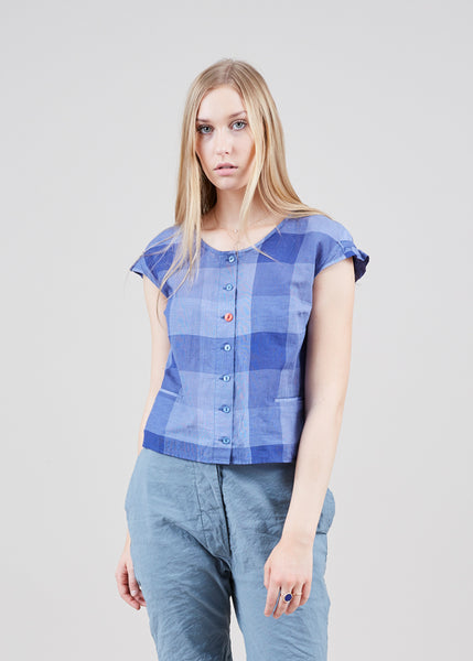 Florine Check Top