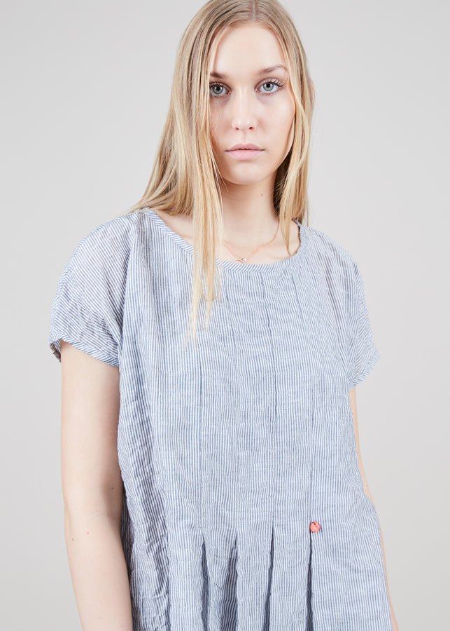 Echappees Belles Fleur Pleated Top