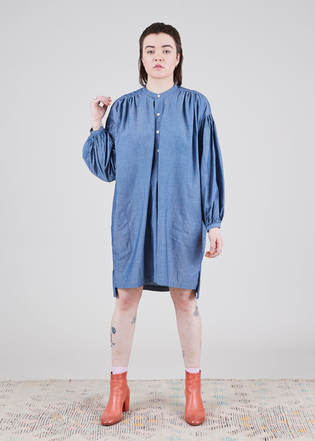 Uqnatu Chambray Tunic Dress
