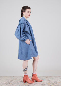 Chambray Tunic Dress