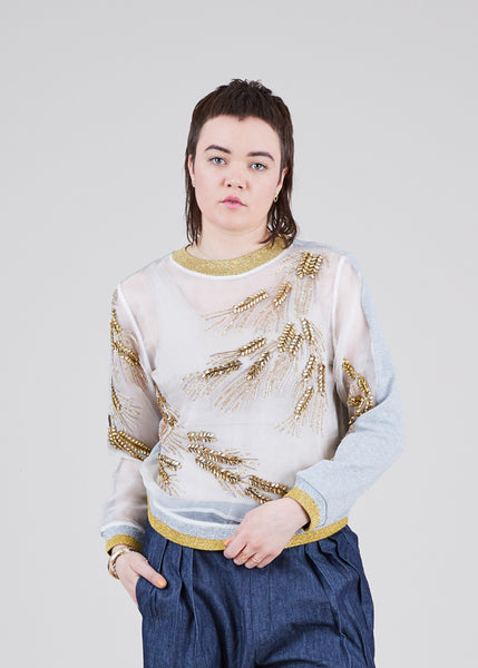 Maze of Wonder Sheer Sweatshirt