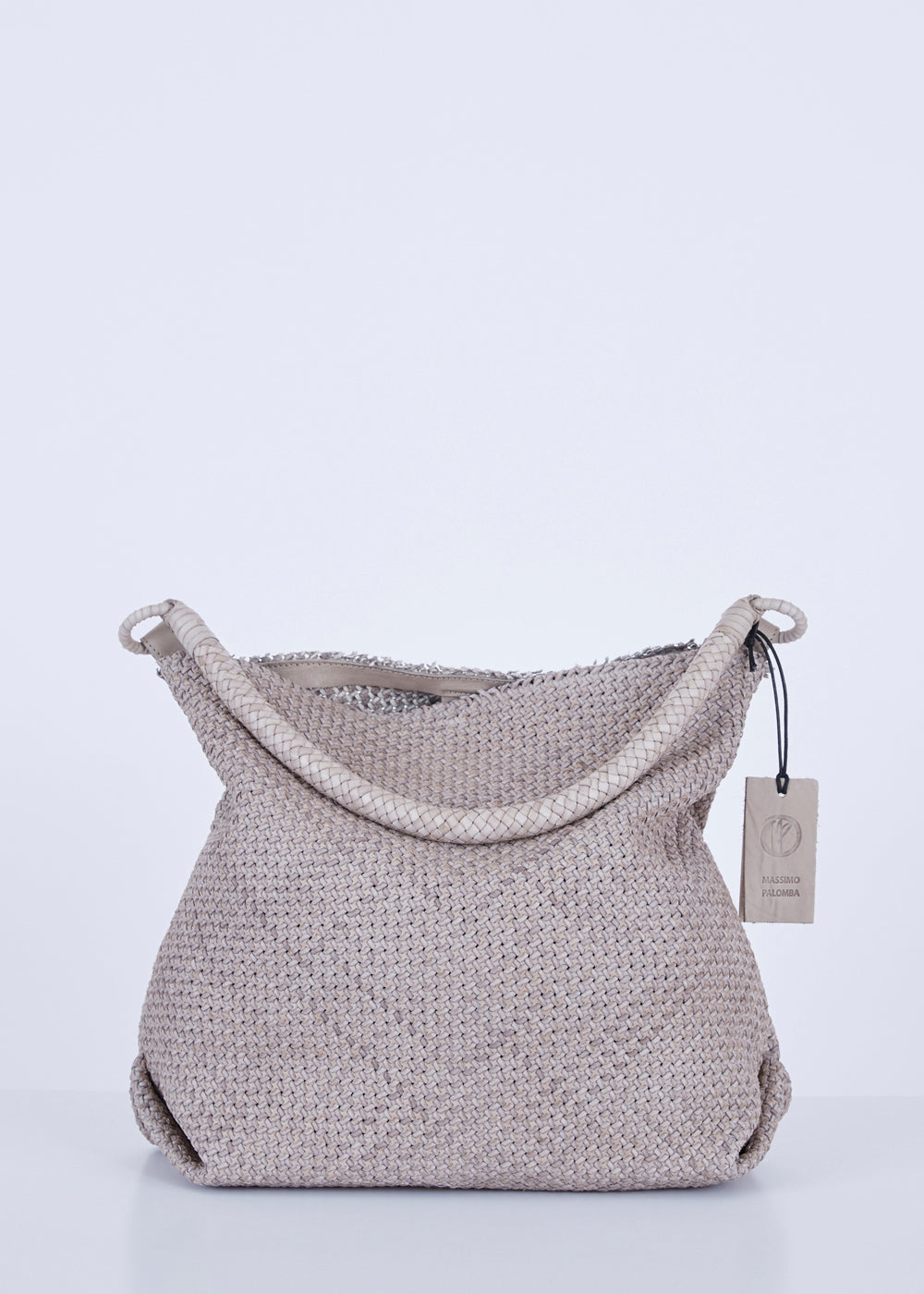 Massimo Palomba Calypso Woven Shoulder Bag