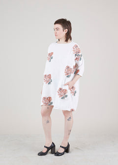 Tomboy Floral Shift Dress