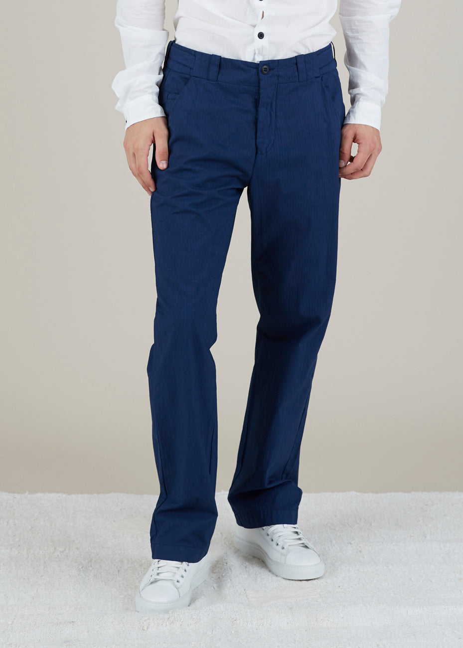 Hannes Roether Men's Tampas Pinstripe Trouser