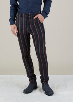 Linen Track Pant