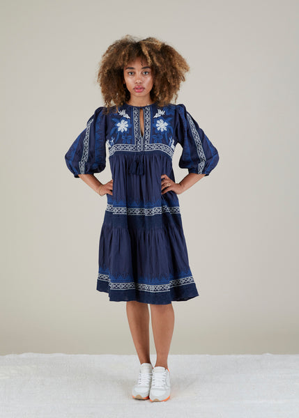 Tijuana Embroidered Dress