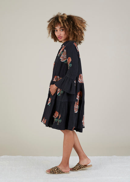 Tatum Floral Peasant Dress
