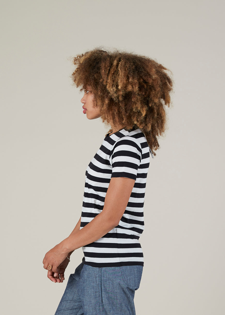Striped Small Tee