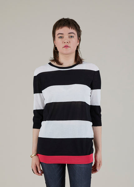 Striped Long Sweater