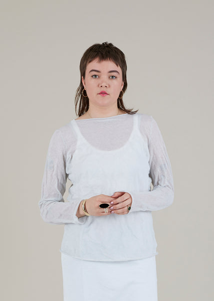 Sheer Gauze Shirt