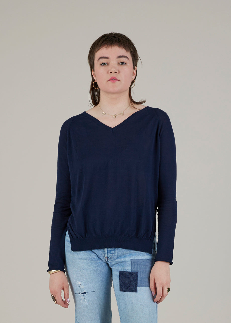 Lightweight V-Neck Pullover