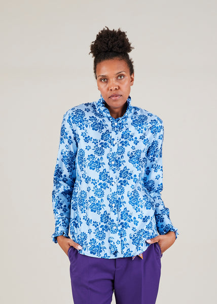 Luna Silk Blouse