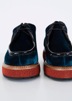 Mona Lace Up Moccasin