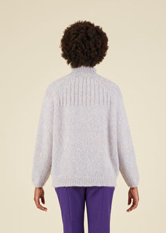 Cybil Mock Neck Sweater