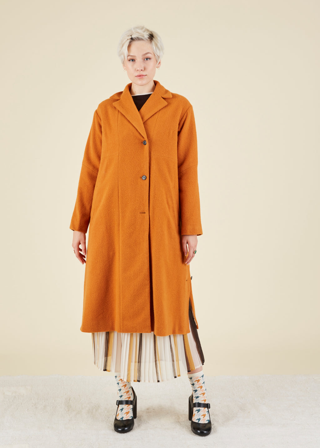 Commuter Wool Coat
