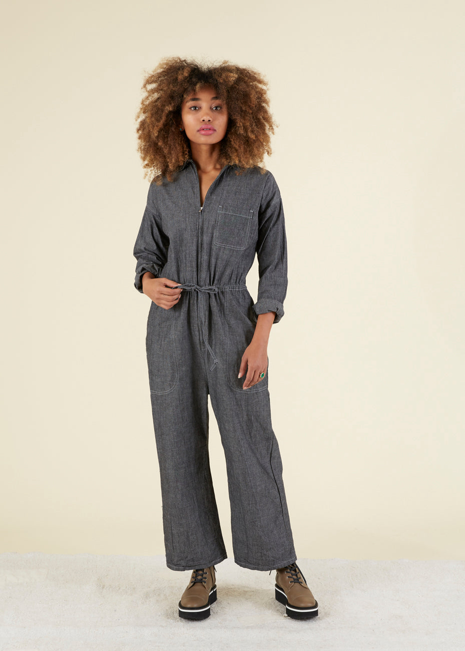 WPA Zip Front Coverall