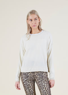 Sporty Cashmere Sweater