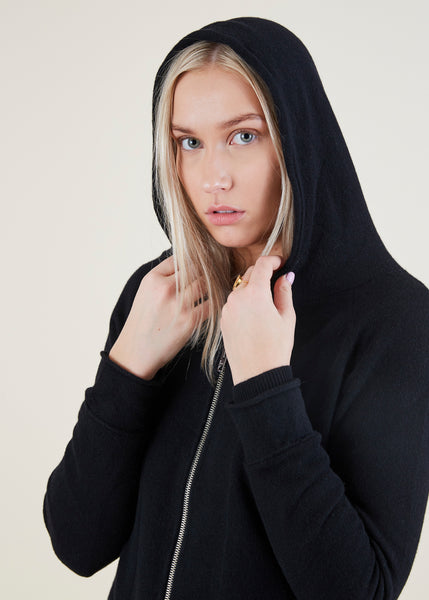 Sporty Cashmere Hoodie
