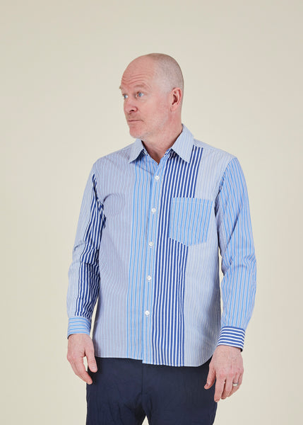 Stripe Pattern Shirt