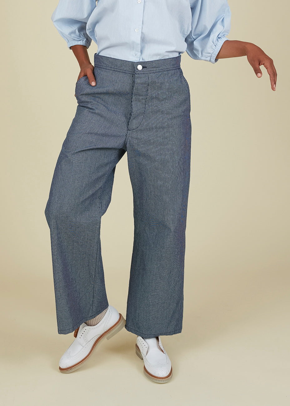 Echappees Belles Ignace Solid Pantalon