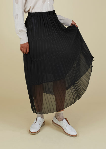 Help Pleated Skirt