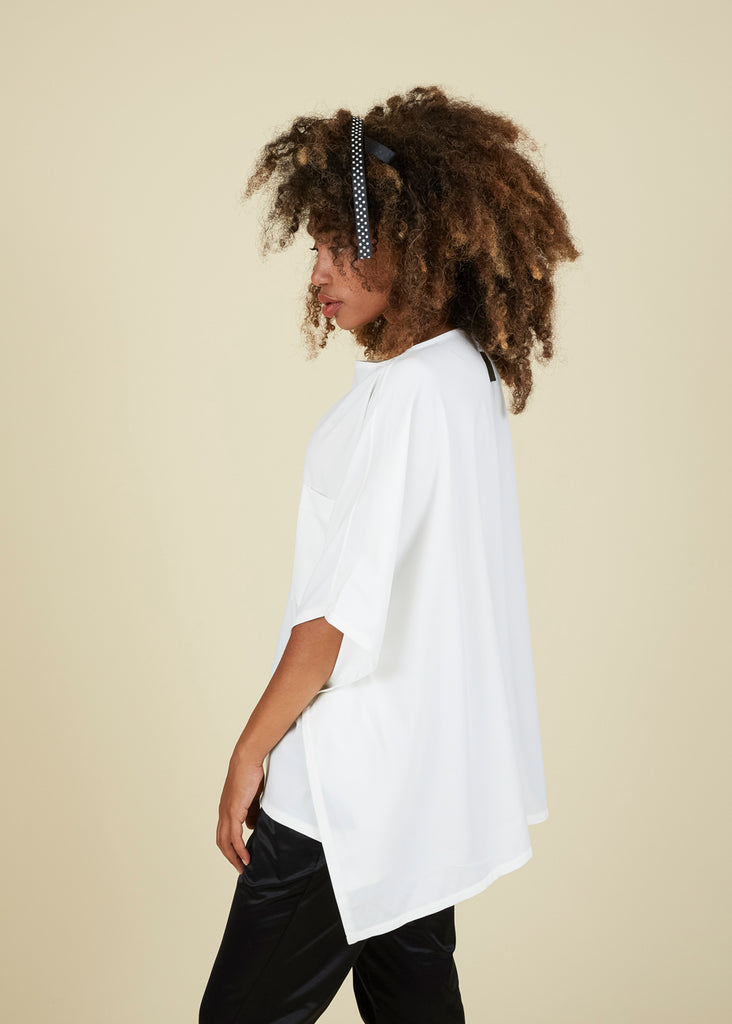 Dorgian Back Flair Top