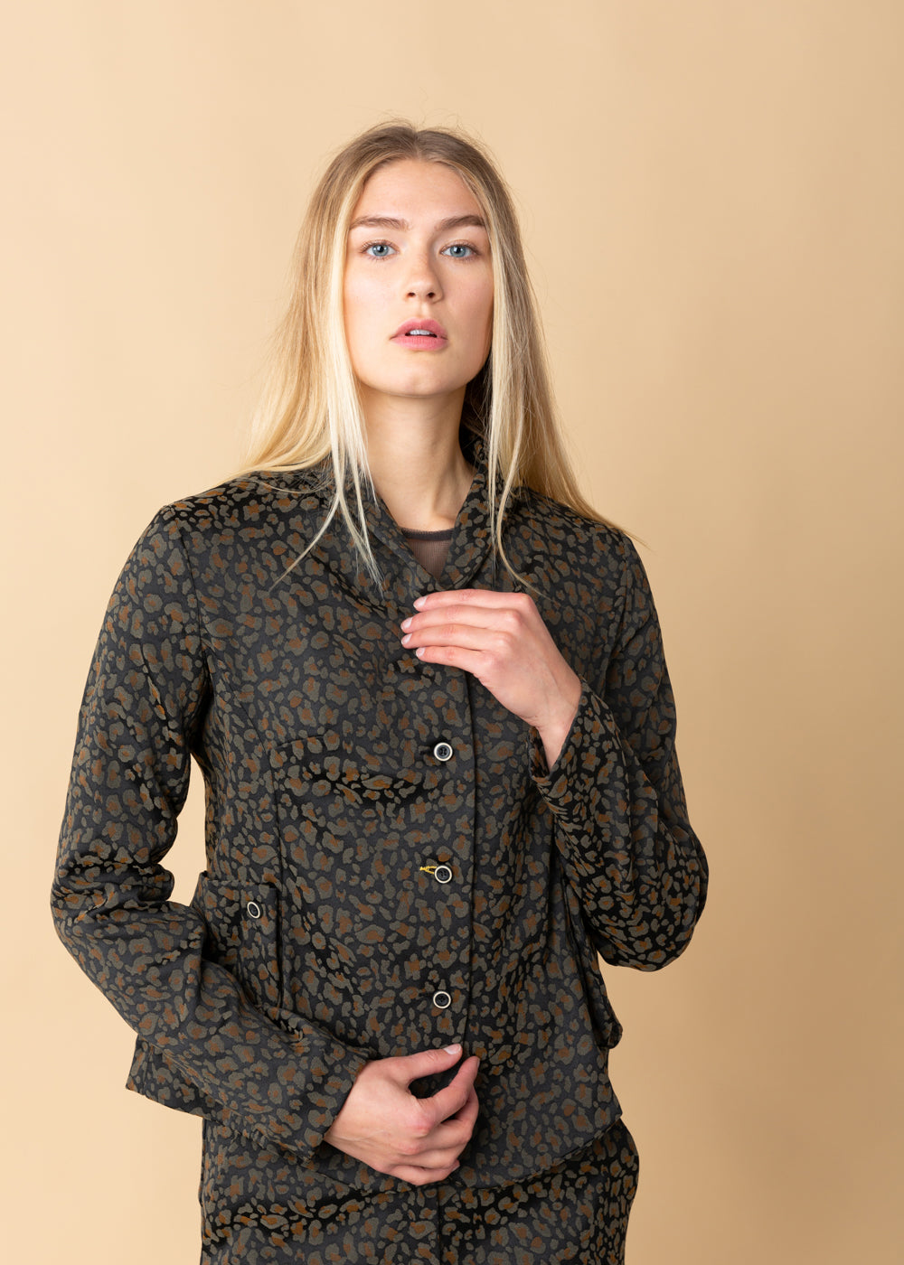 Echappees Belles Java Printed Jacket