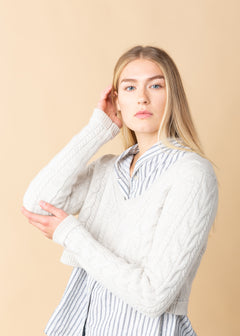 Cable Curator Cashmere Crop