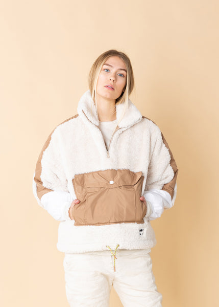 Oversized Pouch Pocket Jacket