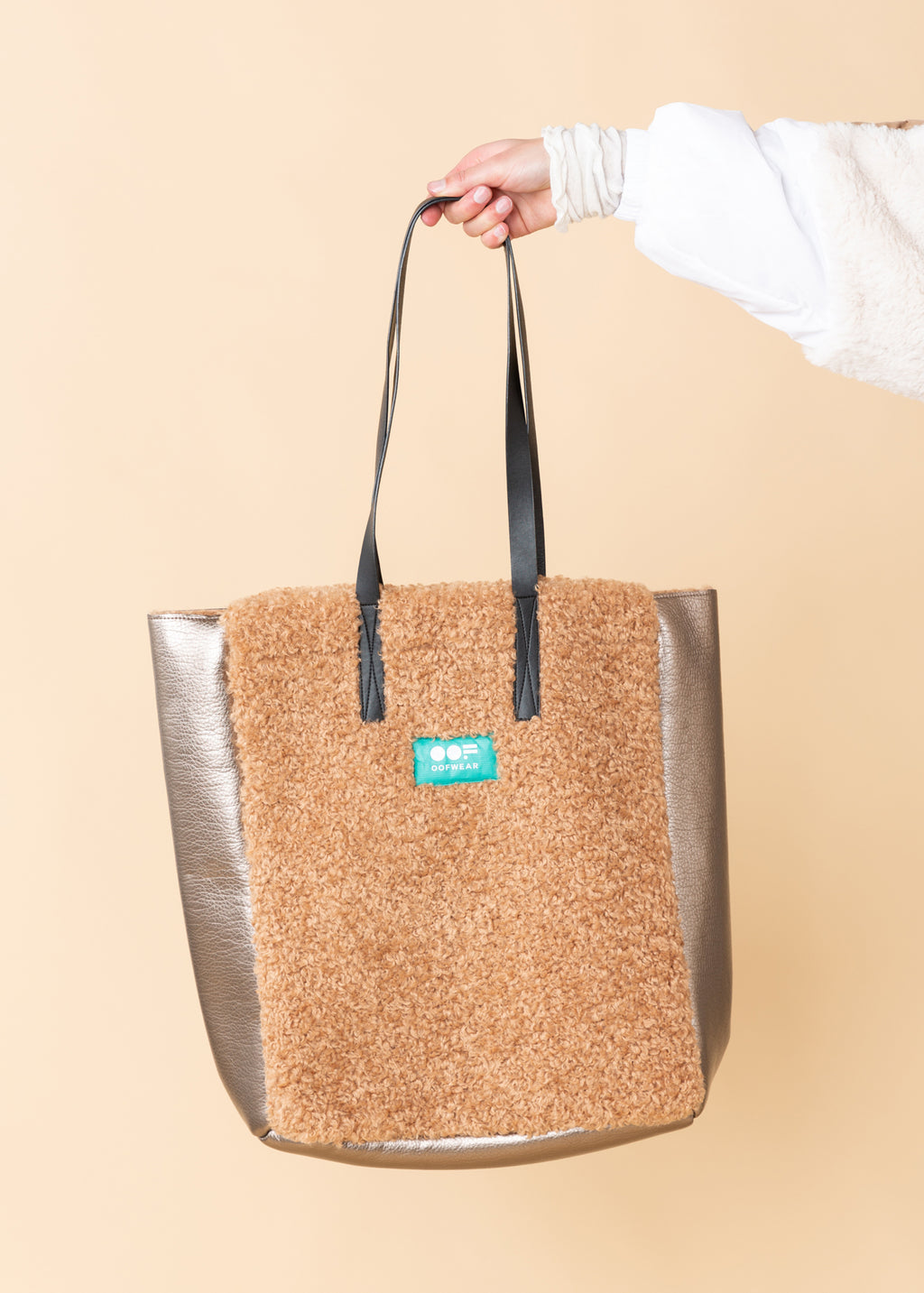 Eco Sheepskin Tote Bag