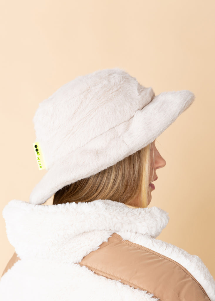 Faux Fur Fisherman's Hat
