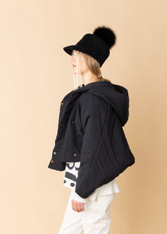 Shawl Collar Short Jacket