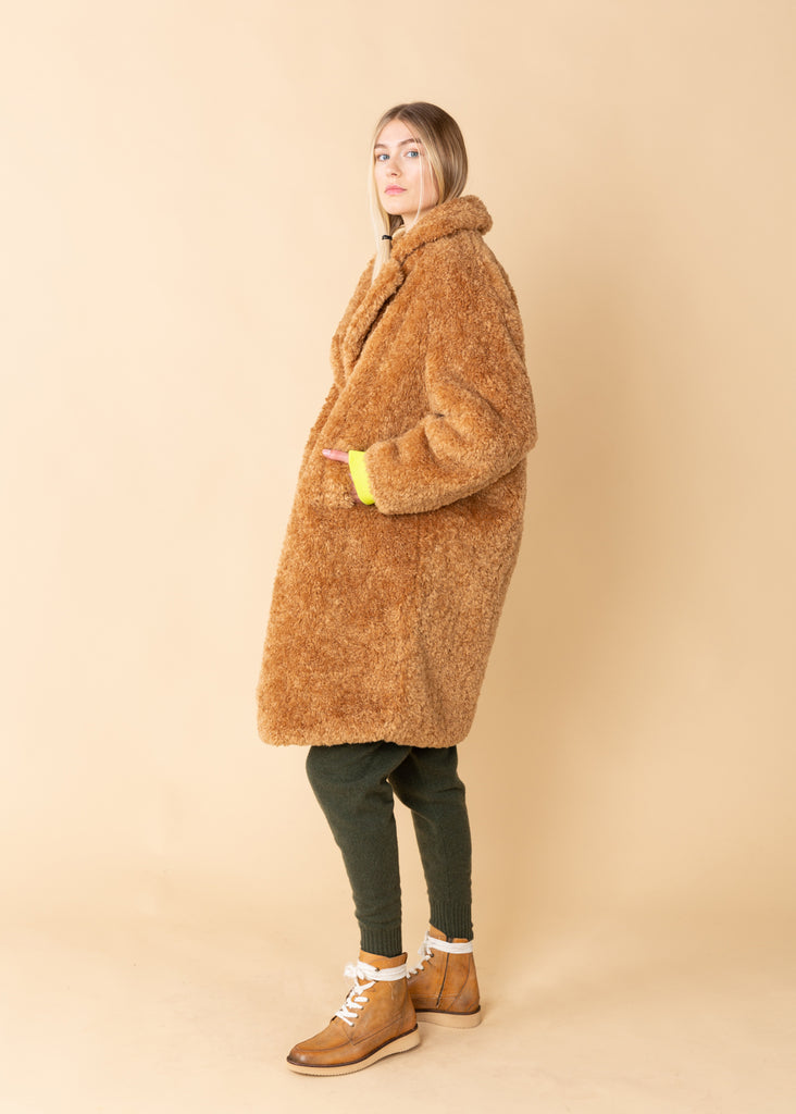 Oversize Faux Fur Coat