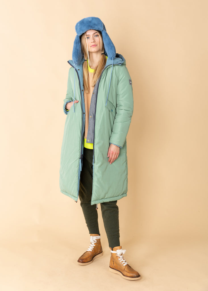 Long Reversible Parka