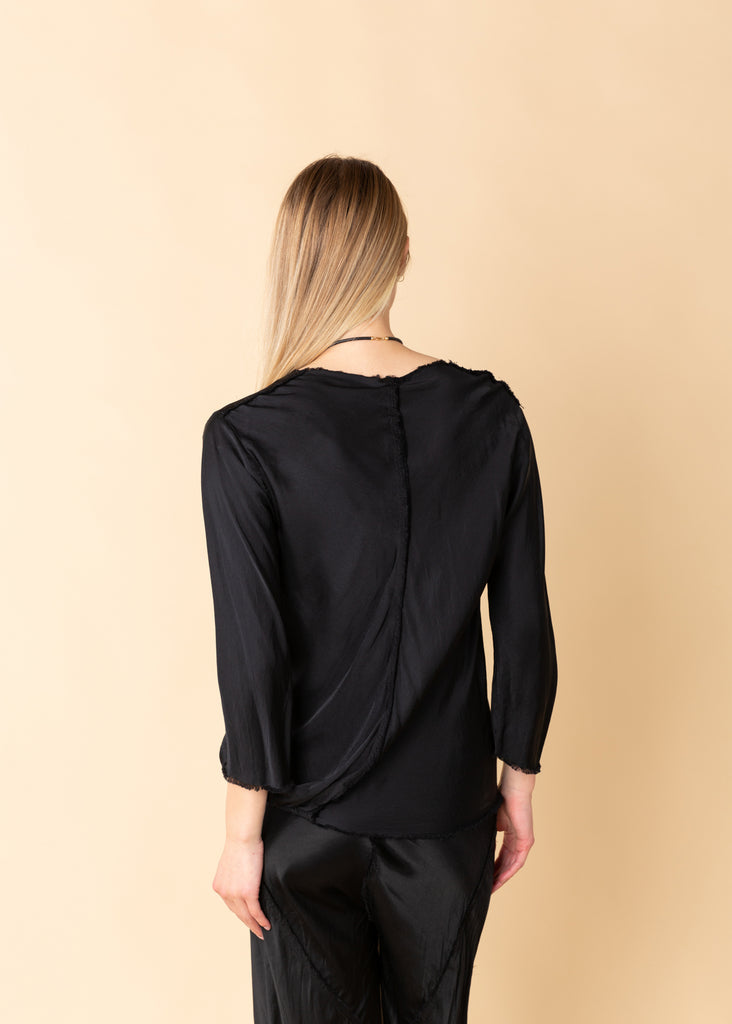 Long Sleeve Rayon Top