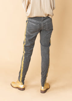 Distressed Rayon Pant