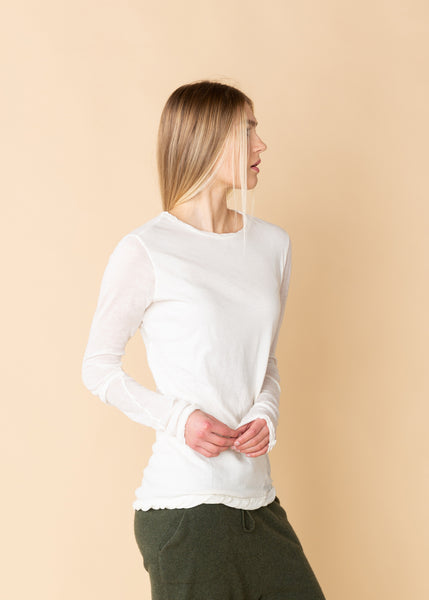 Cotton Cashmere T-Shirt