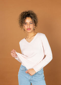 High V Cashmere V-Neck Sweater