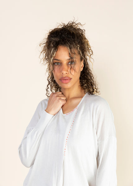 Roundneck Cotton Pullover